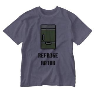 冷蔵庫 Washed T-shirts