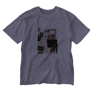 Art Baseのエゴン・シーレ / 1911 /Schiele's Room in Neulengbach / Egon Schiele Washed T-shirts