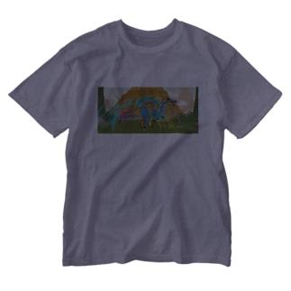 さうるす Washed T-shirts