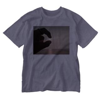 大粒ダイヤモンド Washed T-shirts