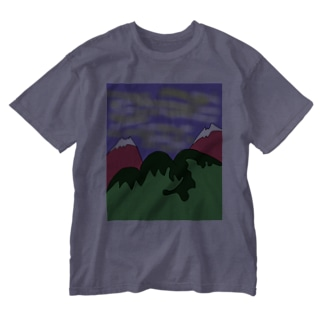 JUJNSEN SETA(瀬田 純仙)令和の夏山1 Washed T-shirts