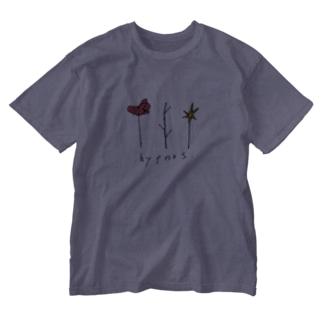 ヒュプノス三種の神器 Washed T-shirts