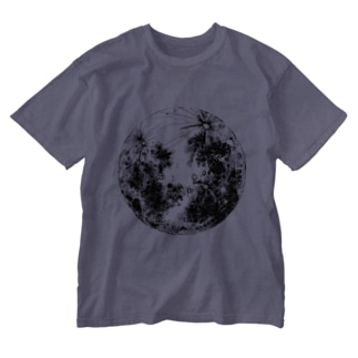 THE MOON Washed T-shirts