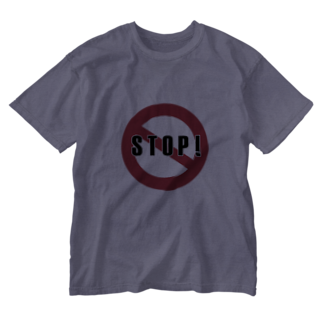 anorexiaのSTOP! Washed T-shirts