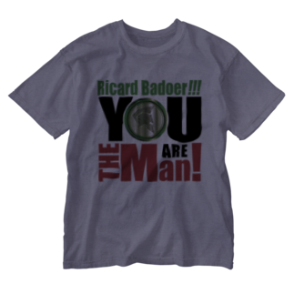 MacciのYou are the man! Washed T-shirts