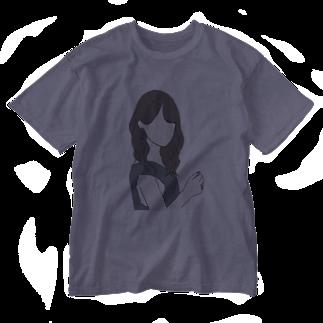 ayakaの黒島ちゃん風 Washed T-shirts