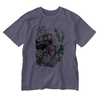 HAGI隠れ Washed T-Shirt