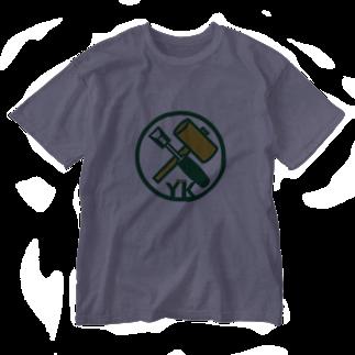 原田専門家のパ紋No.3402 YK  Washed T-shirts