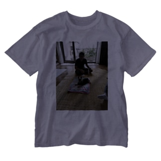 うちの旦那はんとポポ Washed T-shirts