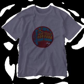 原田専門家のパ紋No.3404 きっとん  Washed T-shirts
