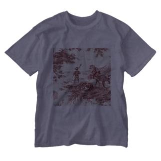 J. Jeffery Print Galleryのトワルドジュイ Toile de Jouy Washed T-shirts