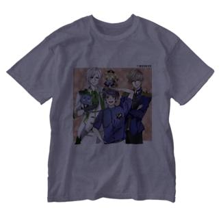 もも太海賊団 男子メンバーグッズ Washed T-shirts