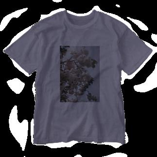 yanagiの花 Washed T-shirts