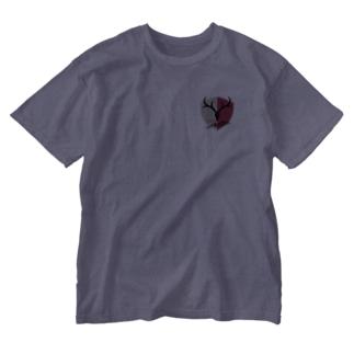 鹿島アントラーズのエンブレム Washed T-shirts