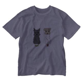 しゃろふいフルーツ Washed T-shirts
