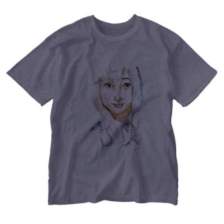 女子高生 Washed T-shirts
