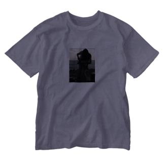 ばねとりこ Washed T-shirts