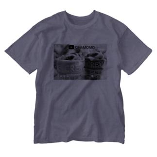 ▽▲OHAMOMO フクロモモンガ ▽▲ Washed T-shirts