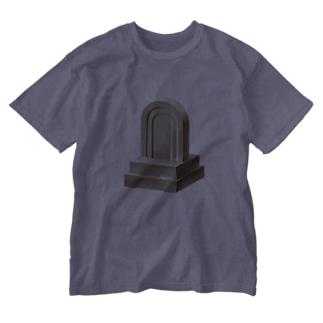石碑 Washed T-shirts