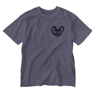 世の真理 Washed T-shirts