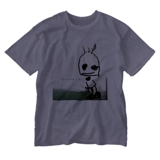 This is that I am. ありのままに生きる。 Washed T-shirts
