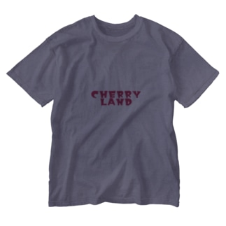 Cherry girl Washed T-shirts