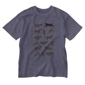 チームステファン バージョン Washed T-shirts