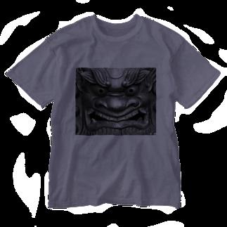 dohshinの鬼瓦 Washed T-shirts