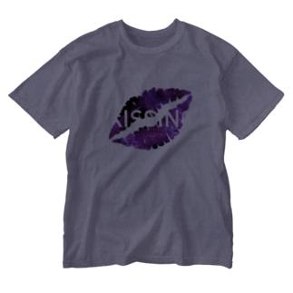 KISSING Washed T-shirts