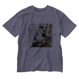 ぎんじさん Washed T-shirts