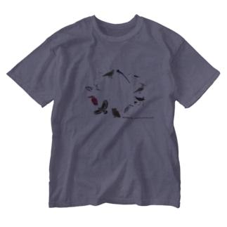 しまのなかまスピンオフ『トリース』 (増量) Washed T-shirts