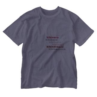 hibineco/hibinecocco Washed T-shirts