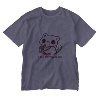 I love Strawberry jam. Washed T-shirts