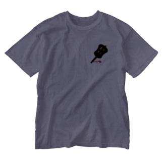 相撲軍配 Washed T-shirts