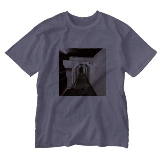 ヨル*ミチ Washed T-shirts