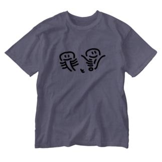 ★つみとばつ★ Washed T-shirts