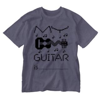MY GUITAR Washed T-shirts
