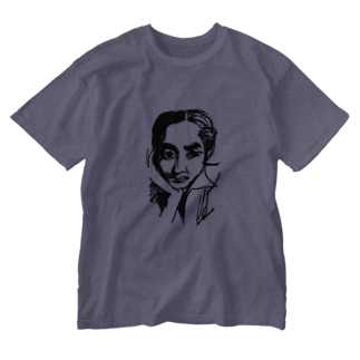 record mizukoshiのHOSONOSAN Washed T-shirts
