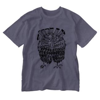 七面鳥くん Washed T-shirts