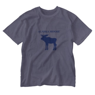 Alaska Moose Washed T-shirts
