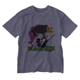 ファングッズ!ブラックNES大集合! Washed T-shirts