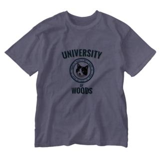 WOODS UNIVERSITY Washed T-shirts