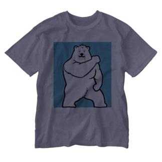 マッスル白熊💪 Washed T-shirts