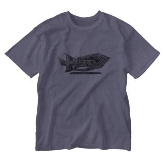 HERO立体ロゴ Washed T-shirts