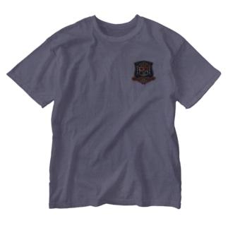 うさぎエンブレム<チェス> Washed T-shirts