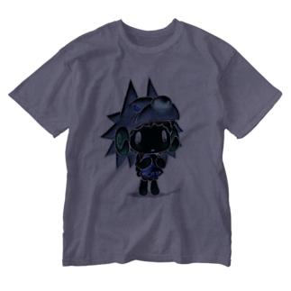 【各5点限定】がおくんのかわをかぶっためぇめぇさん(1/nega) Washed T-shirts