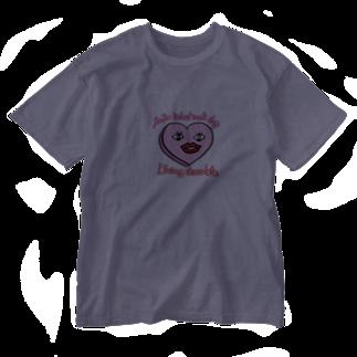 四色アペンド+の生きてるチョコレート2020 Washed T-shirts