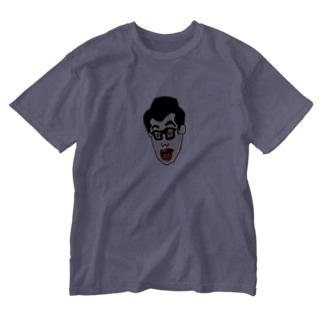 何か心当たりありますか 01 Washed T-shirts
