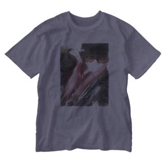 Lost'knotの中ノ紅イ人間 Washed T-shirts