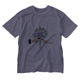 カンパイ Washed T-shirts